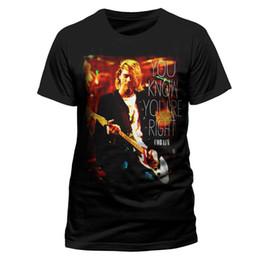 c0da100ab Cobain shirts online shopping - Kurt Cobain Right Official Nirvana Tee T  Shirt In Utero Nevermind