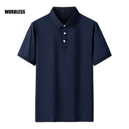 business tee shirts Australia - New Shirt Men Solid Color Short Sleeve Tops Comfortable Breathable Summer T Shirts Cotton Business Tee polos para hombre