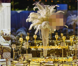 Clear Wedding Glasses Australia - crystal glass candle holder table centerpieces for wedding decor glass candelabra
