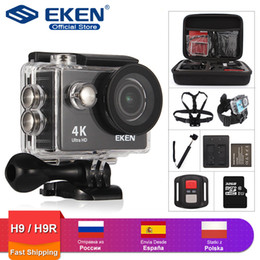 "waterproof helmet cams Australia - EKEN H9R   H9 Action Camera Ultra HD 4K   30fps WiFi 2.0"" 170D Underwater Waterproof Helmet Video Recording Cameras Sport Cam"