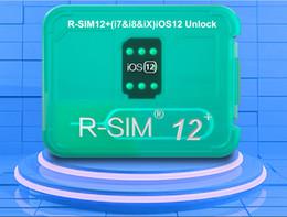 Vente en gros Nouvel original et tout nouveau R-SIM12 + tout nouveau déverrouillage automatique IOS 12.2; Déverrouillage IOS 12.3 pour iPhone Xs MAX XR XS X 6 7 8 PLUS DHL Gratuit