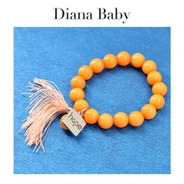 Diana jewelry online shopping - Diana Baby Jewelry Colorful Bangle For Women High Quality Bangle Round Beads Bracelet For Party Wedding Jewelry Gift Findings