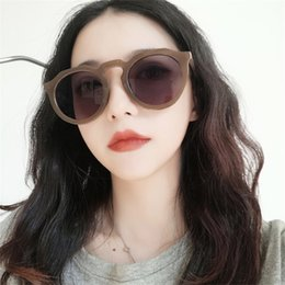 celebrity sunglasses wholesale UK - The New Jelly Color Sunglasses Tide Female Fashion Personality Web Celebrity Sun Glasses Lovely Wind Without Makeup Joker Sun Glasses