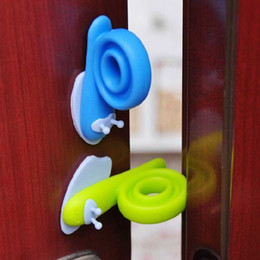 $enCountryForm.capitalKeyWord Australia - 3PC Lot Baby Safety Seguridad Products Silicon Doorstop Door Clip New Arrival Kids Cartoon Animal Child Safety Door Stopper