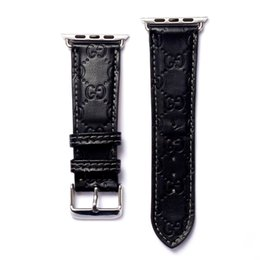 Apple Watch strap Mature Steady Low-key Business Genuine Leather for Apple Watch Band 38mm 40mm for iwatch Watchband Casual on Sale
