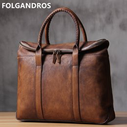 c9474aa37b58 designer laptop bags men 2019 - 2019 Brand Luxury Men s Briefcases Genuine  Leather Laptop Bag Designer