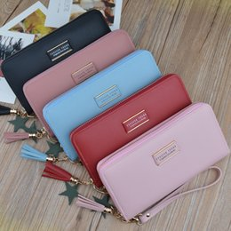 Discount ladies new stylish wallet - Stylish All-in-one with New Simple Ladies Purse Long Zipper Wallet Multi-functional Wallet Clutch Bag