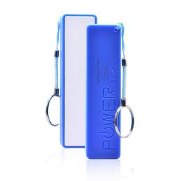 Hot Sales Iphone Case Australia - Hot Sale Portable 2600mAh Power Bank with Keychain for IPhone 8 7 6 Powerbank External Battery Charger Battery Charger Cases