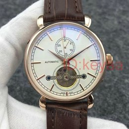 watches tourbillon movement 2019 - Tourbillon Top luxury Fashion Mechanical Mens designer Stainless Steel Automatic Movement Watch Sports Watches Self-wind