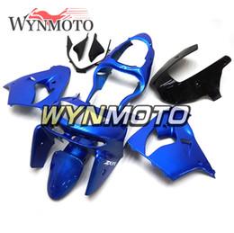 $enCountryForm.capitalKeyWord NZ - Gloss Pearl Blue Cowlings Motorcycle ABS Plastic Full Fairing Kit For Kawasaki ZX9R ZX-9R Year 1998 1999 NINJA ZX-9R 98 99 Bodywork Carenes