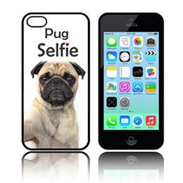 $enCountryForm.capitalKeyWord NZ - Pug Selfie Dog Phone Case For Iphone 5c 5s 6s 6plus 6splus 7 7plus Samsung Galaxy S5 S6 S6ep S7 S7ep