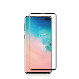 $enCountryForm.capitalKeyWord Australia - New design For Samsung Galaxy S10 S9 S9 Plus S10E S7 edge 5D Full Coverage fingerprint unclock NO HOLE Tempered Glass Screen Protector