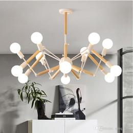 Lustre pendant online shopping - Vintage Modern LED Chandelier Spider Lustre E27 Livingroom Lighting For Kitchen Restaurant Chandeliers Fixture Lights LED