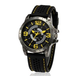$enCountryForm.capitalKeyWord Australia - Duobla watch men Luxury Fashion Silicone strap Sport Cool Quartz Hours Wrist Analog Watch relogio masculino erkek kol saati P#