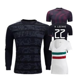 4d5f8980b50 Gold Cup 2019 Mexico soccer jersey 19 20 MEN WOMEN KIDS Camisetas 2018  CHICHARITO LOZANO DOS SANTOS girl football shirt camisa de futbol