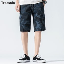 $enCountryForm.capitalKeyWord NZ - Summer Cotton Cargo Shorts Men Casual Camouflage Cotton Workout Shorts 2019 Style Bottoms Casual Bermuda Trousers 924