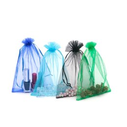 $enCountryForm.capitalKeyWord Australia - Classical Colorful 1000pcs 15x20cm Drawstring Organza Bags Jewelry&Candy&Toys&Gift Display Bags Wedding&Birthday Gift Bags
