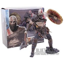 $enCountryForm.capitalKeyWord Australia - God Of War 4 Kratos With Axe Shield Pvc Statue Figure Collectible Model Toy J190719