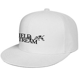 AnimAl hAt birds online shopping - Womens Mens Plain Adjustable Bird Field Stream Logo Hip Hop Cotton Snapback Hats Summer Travel Hats Flat Top Hat Airy Mesh Hats For Men Wom