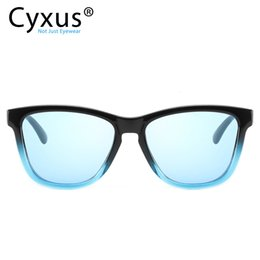 women stylish sunglasses Australia - Cyxus Polarized 80's Retro Classic Trendy Stylish Sunglasses for Men Women -1997 SH190924