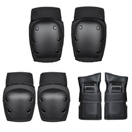 $enCountryForm.capitalKeyWord Australia - 6PCS Elbow Knee High Density Fall Prevention Cover Children Ski Scooter Safety Guard Knee Pads Support Adult Children