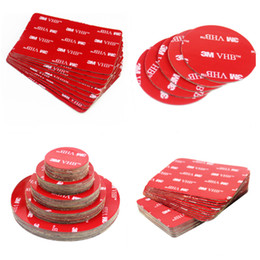 3m double sided foam tape online shopping - Factory Die Cut Shape Round M VHB Double Sided Acrylic Foam Adhesive Tape Heavy Duty Mounting Tape Choose Wide