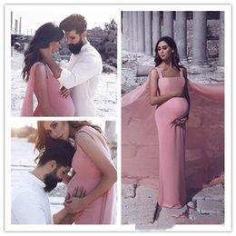 $enCountryForm.capitalKeyWord NZ - Elegant Dust Pink Mermiad Long Prom Dresses With Long Wrapfor Maternity Women Chiffon Floor LEngth Foraml Evening Wears