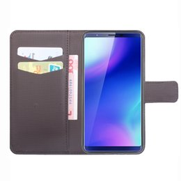 Wholesale cubot mobile phones resale online - Wallet Leather Mobile Phone Holder Cover Flip Case for Cubot X18 Plus