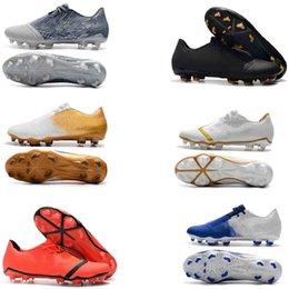 Discount cheap futbol boots - 2019 original mens soccer shoes Phantom VNM Elite FG soccer cleats cheap Phantom Venom FG football boots botas de futbol