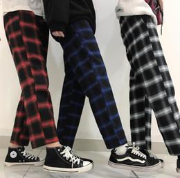 Wholesale plus size fleece leggings resale online – Slim Pants Women Autumn Spring Vintage Plaid Women Loose Trouser Casual Slim Lace Stretch Candy Color Plus Sizes Woman Leggings