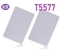 $enCountryForm.capitalKeyWord NZ - DHL 500pcs Original White t57 t5577 125khz Blank Card Copy ID Duplicator Write Contactless Smart LF Pvc Card Writable Rewritable Card