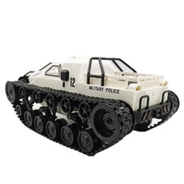 full body cars stickers UK - SG 1203 RC Tank Car 2.4G 1:12 High Speed Full Proportional Control Vehicle Models Wading Depth With Gull-wing Door Metal Crawler