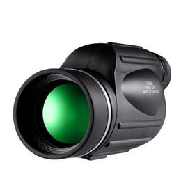 Monocular Telescope Bird Watching UK - HD Zoom 10X50 Monocular Bird Watch Hunting High Quality Nitrogen Waterproof Telescope Binoculars for Hunting Shockproof
