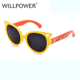 SunglaSSeS babieS online shopping - WILLPOWER Fashion Brand Designer Polarized UV400 Girls Goggle Plastic Frame Baby Girl Boy Gift Kids Sunglasses PK