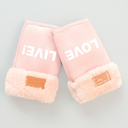 $enCountryForm.capitalKeyWord Australia - Love Live School Idol Project Nico Winter Warm Plush Half Finger Glove Thicken Cosplay Accessories Women Girl Japanese Anime