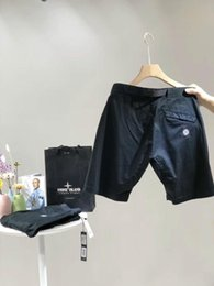 Chiffon Beach Trousers Australia - 2019 casual retro sports designer pants mens shorts trousers quality imported material ykk zipper loose adjustable belt summer shorts beach