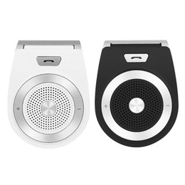 $enCountryForm.capitalKeyWord Australia - Car Bluetooth Kit Handsfree Speaker Phone Support Bluetooth 4.1 EDR Wireless Car Kit Mini Visor Can Hands Free Calls
