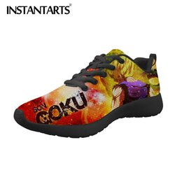 $enCountryForm.capitalKeyWord Australia - INSTANTARTS Men Casual Shoes Z Men's Sneakers Anime Super Print Boy Mesh Shoes Saiyan Son Goku Flats Trainer