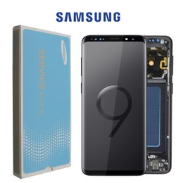SamSung galaxy Screen digitizer online shopping - ORIGINAL SUPER AMOLED Replacement for SAMSUNG Galaxy S9 LCD Touch Screen Digitizer with Frame S9 Plus LCD G960 G965 with Frame