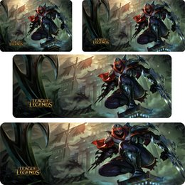 $enCountryForm.capitalKeyWord Australia - Master of Shadows Zed mouse pad lol mousepad laptop Legends mouse pad gear notbook computer gaming gamer play mats