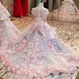 mothers daughters dresses Australia - Applique Evening Dress Mother Daughter Gowns Zipper Back Beaded Organza Ball Gown Long Evening Dress Real Photos Off Shoulder Prom Dress 2 T