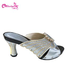 $enCountryForm.capitalKeyWord Australia - Women Shoes For Evening Parties Female Silver Shoes To Match Lace Dress Italian shoes 2019