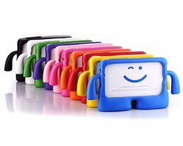 $enCountryForm.capitalKeyWord Australia - Tab E 9.6 SM-T561 EVA Foam Shockproof Case For Samsung GALAXY Tab E 9.6 T560 T561 SM-T560 Children Kids Cute TV Stand Cover