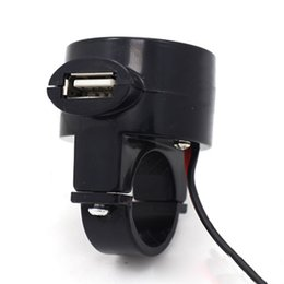 12v usb charger motorcycle online shopping - Waterproof motorcycle mount mobile phone charger car USB socket A V V