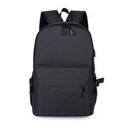 $enCountryForm.capitalKeyWord UK - A new multifunctional nylon backpack USB charging recreation computer bag waterproof breathable security package