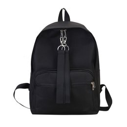 $enCountryForm.capitalKeyWord Australia - Ocardian Nice Fashion Women Outdoor Pure Color Canvas Backpack With Zipper Girl Cheap School Bags For Teenage Girls Bags J25