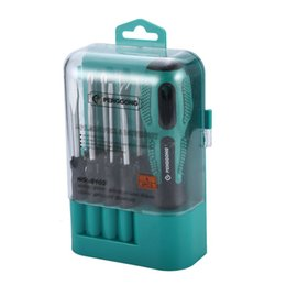 high precision tools NZ - 9pcs set Precision Screwdriver Portable High Quality Tool Kit Magnetic Tool Set Ergonomic Design for Technicians Repair Sale
