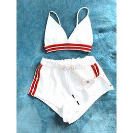 V cut bra online shopping - Kenancy Fashion Two Pieces Women Set Sexy Bra Crop Top With High Cut Tie Elastic Waist Shorts Suit Outfits Beachwear Women Sets C19021601