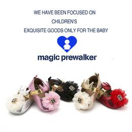 $enCountryForm.capitalKeyWord Australia - OEM 0-1 year old big flower baby first walkers nice decoration solf sole baby pre-walker shoes drop shipping