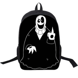 $enCountryForm.capitalKeyWord UK - WD Gaster backpack Undertale skull day pack W D G game school bag Nylon packsack Photo rucksack Sport schoolbag Outdoor daypack
